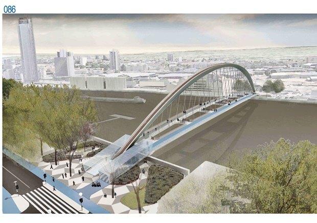 Выложены 74 проекта нового моста через Темзу. Изображение № 7.