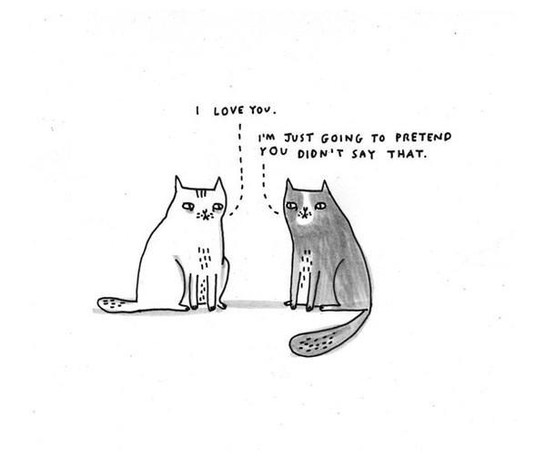 Gemma Correll и её коты. Изображение № 2.