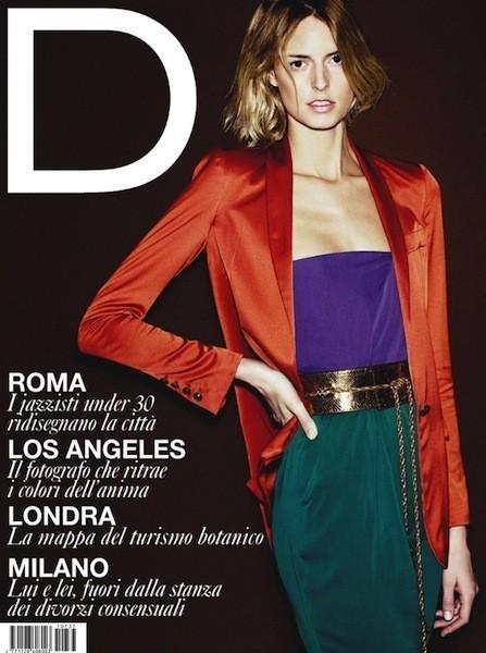 Коллекция Gucci SS 2011 появилась на 50 обложках журналов. Изображение № 15.