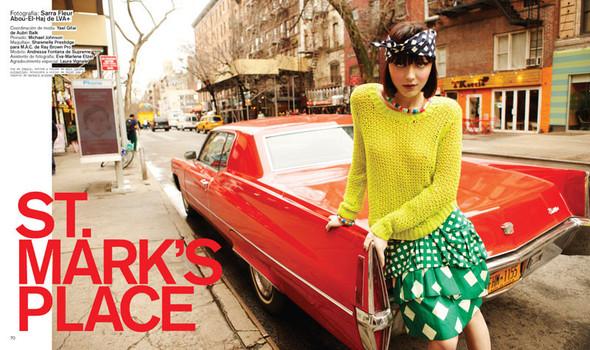 Новые съемки: Vogue, Nylon и другие. Изображение № 1.