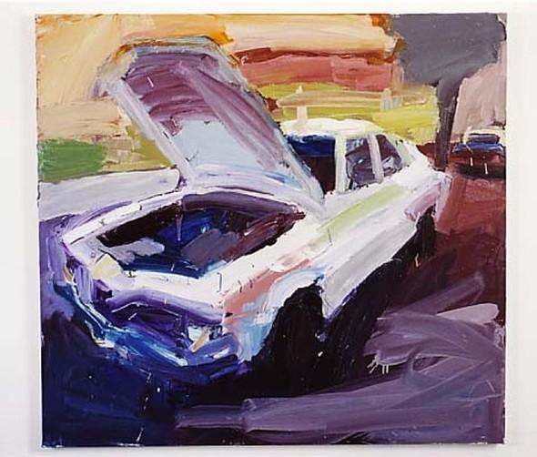 Абстрактные автомобили Бена Куильти. Изображение № 13.
