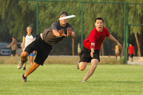Летающие тарелки? (Ultimate Frisbee). Изображение № 4.