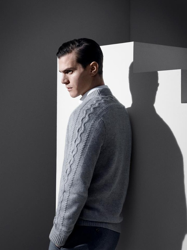 Alfred Dunhill lookbook casual wear Autumn Winter 2012. Изображение № 8.