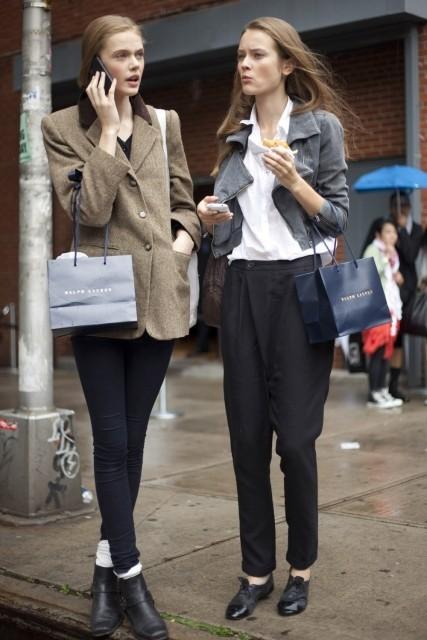 Models street style. Изображение № 45.