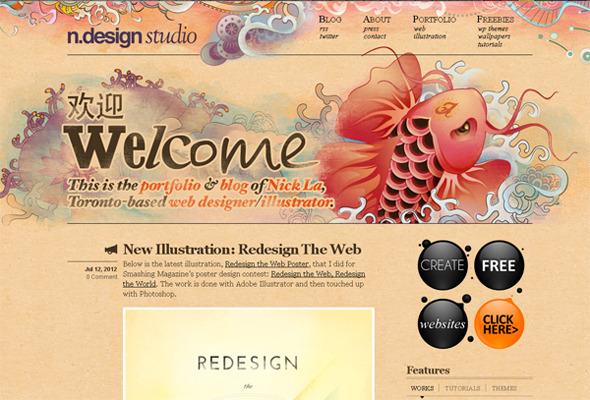 Подборка невероятных сайтов веб-дизайн студий. Изображение № 6.