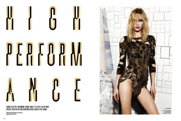 HIGH PERFORMANCE for V Magazine Issue #64. Изображение № 1.