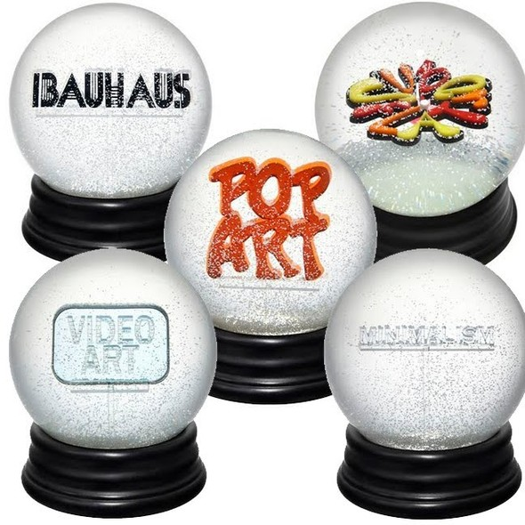 Снежные шары о современном искусстве. Изображение № 1.
