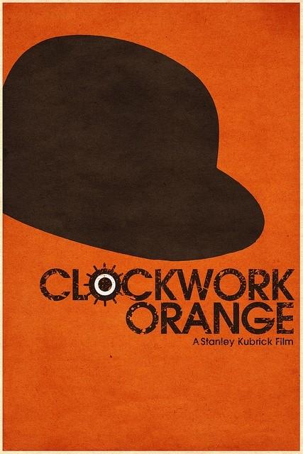 A Clockwork Orange - 20 кинопостеров на тему ультранасилия. Изображение № 11.