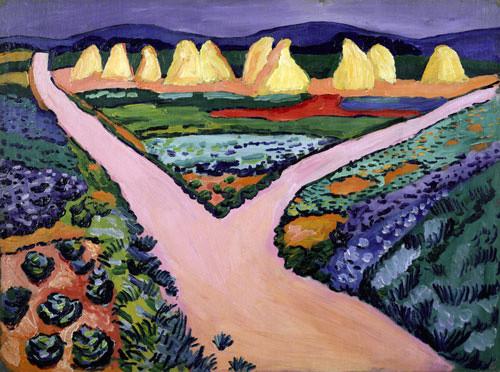 Коллекция работ В.В. Кандинского. Изображение № 2.