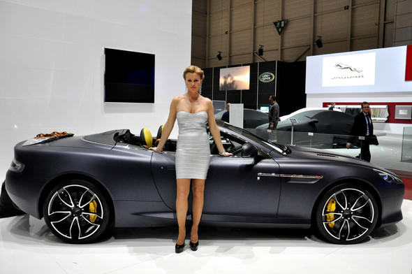 Natalia Freidina at 82nd Geneva International Motor Show. Изображение № 1.