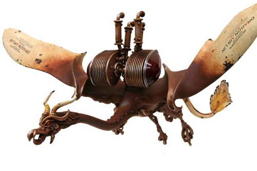 Фантастические скульптуры животных Мишихиро Матсуока. Изображение № 1.