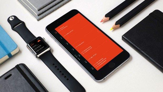 Moleskine выпустил календарь для iPhone и Watch. Изображение № 2.