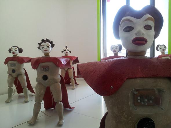 Экспозиция в культурном центре Louis Vuitton. Изображение № 7.