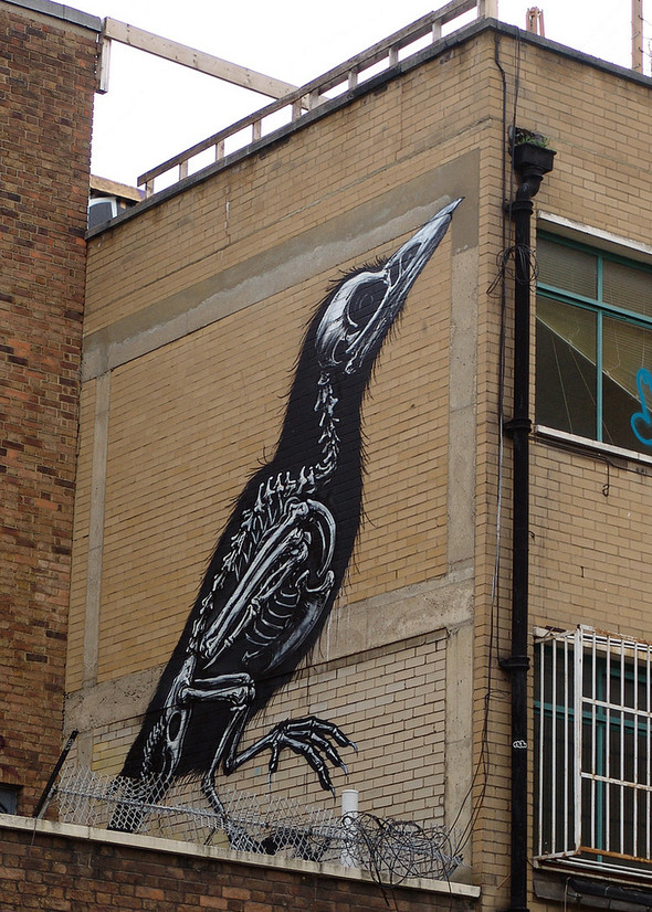 Стрит-арт в Лондоне. Изображение № 37.