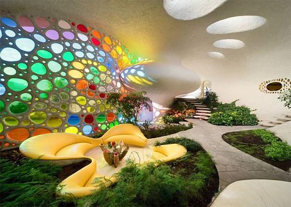 Изображение 12. Shell House: дом-моллюск в Мексике.. Изображение № 12.