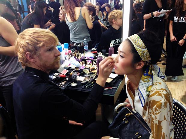 Бэкстейдж Dolce&Gabbana. Изображение № 14.