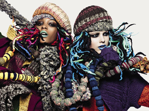 United Colors ofTestino. Vogue UK(November 2009). Изображение № 11.