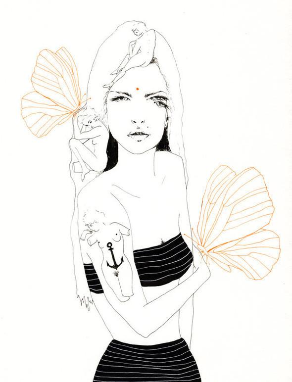 Иллюстрации Charmaine Olivia. Изображение № 24.