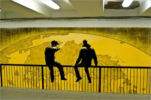 Стрит-арт и граффити Риги. Изображение № 15.