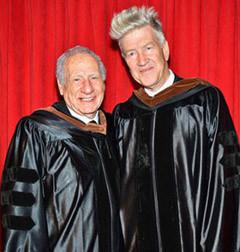 Дэвид Линч и Мел Брукс получили студенческие дипломы. Изображение №1.