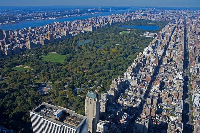 Фото дня: вид с самого высокого жилого здания Нью-Йорка. Изображение № 3.