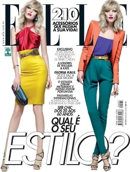 Коллекция Gucci SS 2011 появилась на 50 обложках журналов. Изображение № 16.