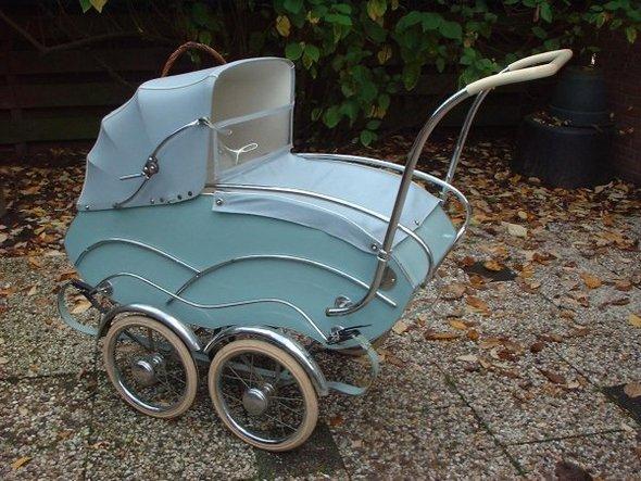 Ретро – kinderwagen, stroller илидетская коляска. Изображение №6.