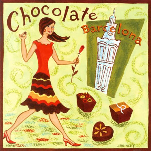 Dolce Vita! Винтажные обертки для шоколада и конфет. Изображение № 50.