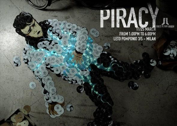Изображение 2. Рекламная кампания: Копирайтеры против пиратства.. Изображение № 2.
