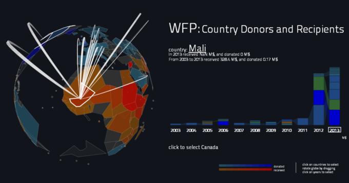 Создана интерактивная карта мировой благотворительности. Изображение № 5.