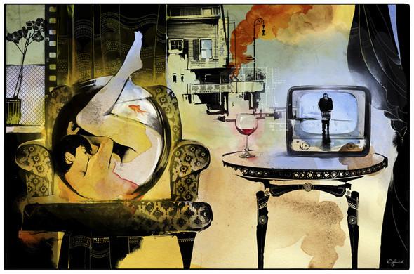 Иллюстрации для журнала и сайта «Сноб». Изображение № 4.