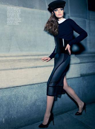 Съёмка в австралийском Vogue, сентябрь 2011. Изображение № 87.