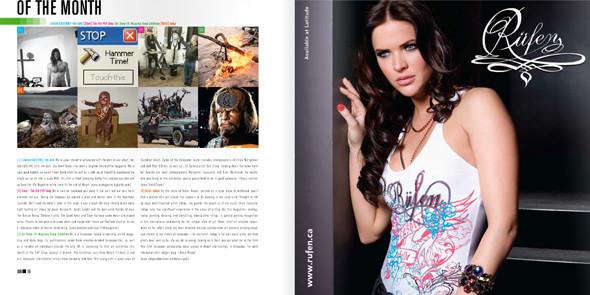 Лучшие журналы месяца на Issuu.com. Изображение № 40.