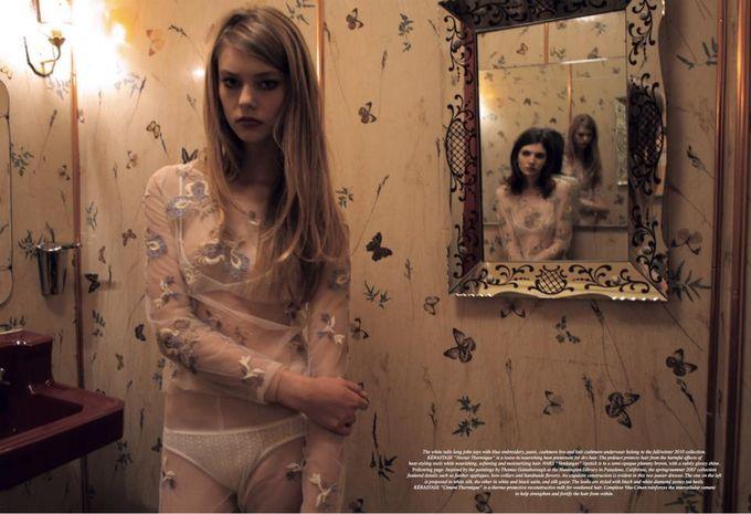Dazed & Confused, Fat, Vogue и другие журналы выпустили новые съемки. Изображение № 29.