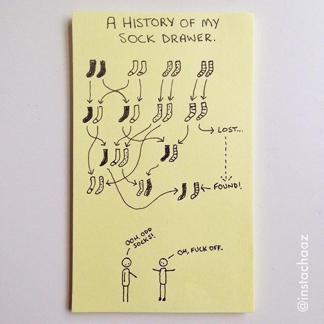 «История моего ящика для носков». Изображение № 17.