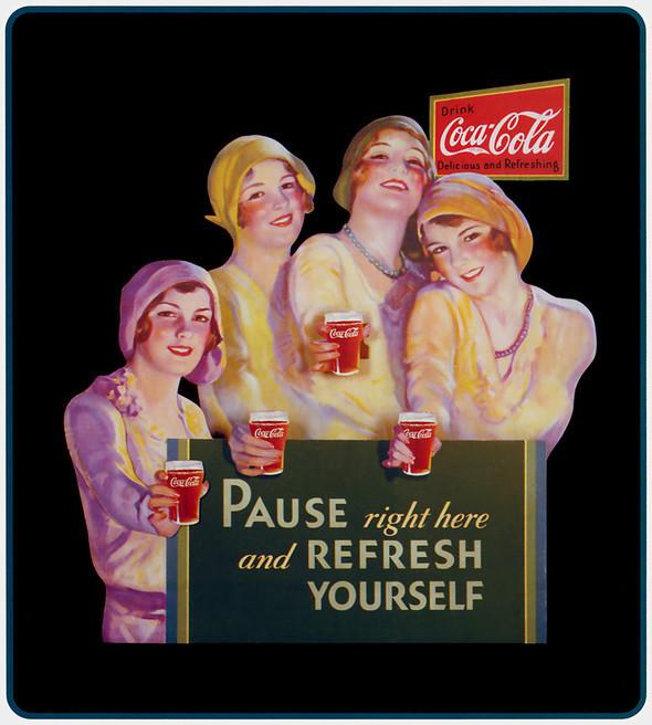 Рекламные плакаты coca-cola. Изображение № 20.