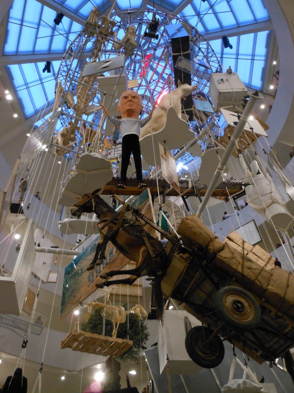 """Нью-Йоркская выставка Маурицио Каттелана """"Все"""". Изображение № 1."""