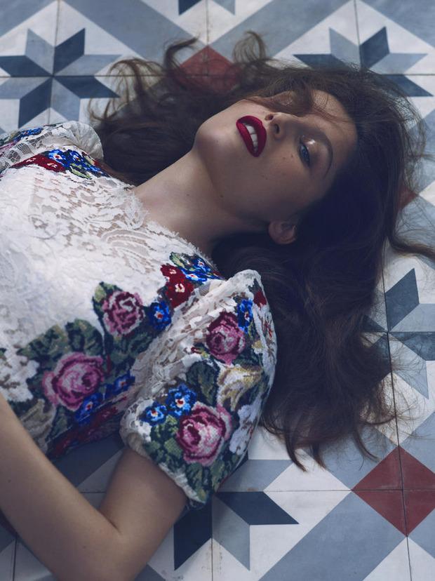 Вышли новые съемки из Bon, Flair, Vogue и других журналов. Изображение № 25.