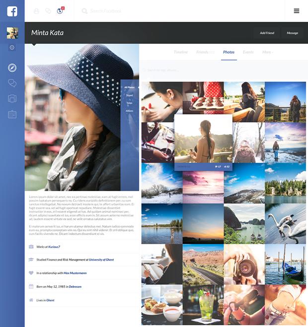 Редизайн дня: полностью новая веб-версия Facebook. Изображение № 23.