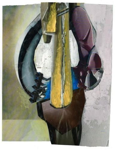 Изображение 2. Абстрактные коллажи Зорана Палуровича.. Изображение № 2.