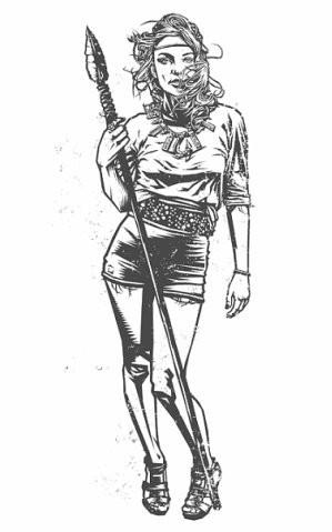 Девушки с оружием от Frank Barbara. Изображение № 16.