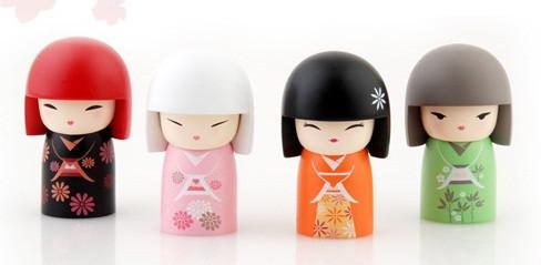 """Традиционная японская Кукла-талисман """"Кокеши"""". Изображение № 3."""