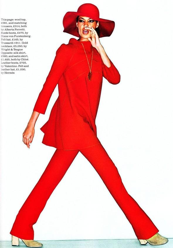 Съёмка: Джоан Смоллс для Elle. Изображение № 8.