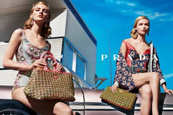 Кампания: Prada SS 2012. Изображение № 9.