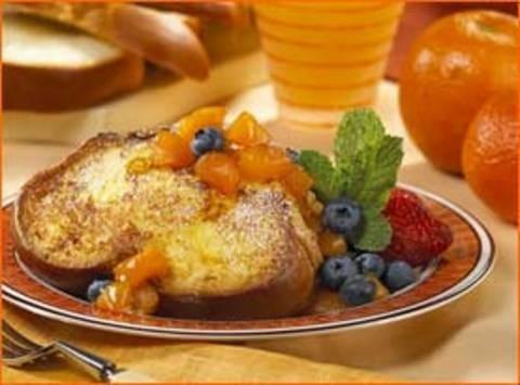 Здоровый завтрак всегда приятен. Изображение № 1.