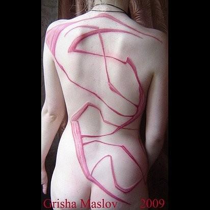 Татуировки в стиле Иннормизма. Изображение № 22.
