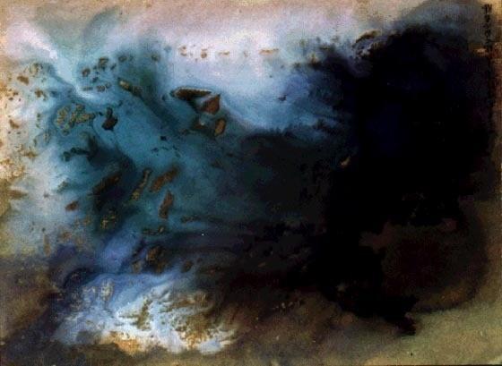 Чан Дайчьен (Chang Daichien). Spring Clouds.. Изображение № 6.