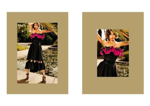 Изображение 8. Рекламные кампании: Yves Saint Laurent, Chanel и другие.. Изображение № 21.