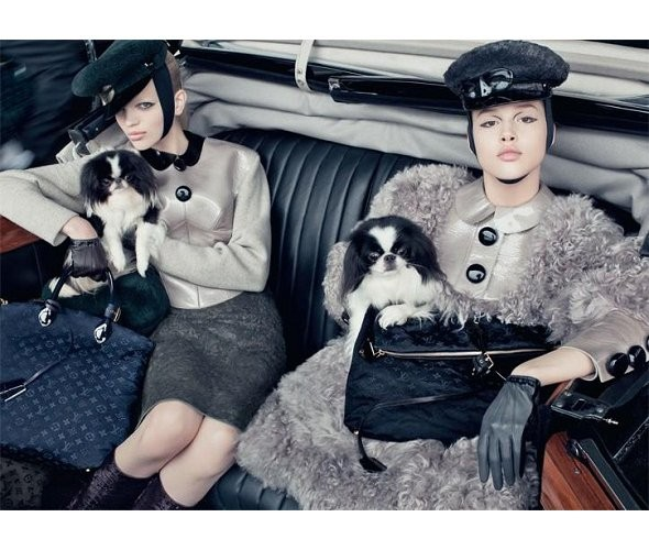 Louis Vuitton FW 2011. Изображение № 28.