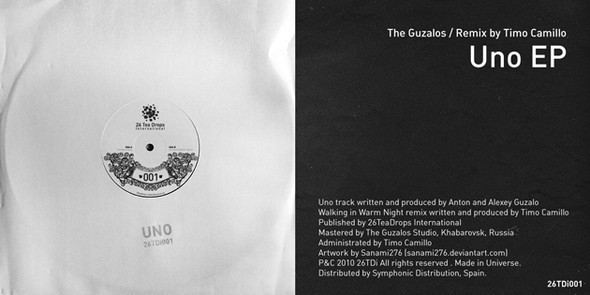 26TeaDrops International - Uno EP by The Guzalos. Изображение № 1.